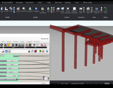 BricsCAD BIM V20 - Grasshopper connection