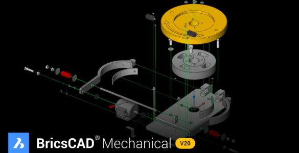 BricsCAD® Mechanical V20